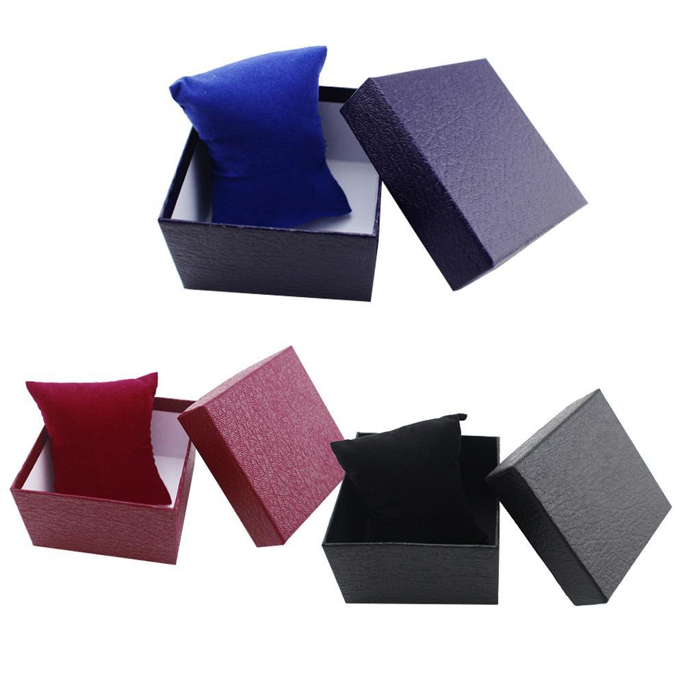 Jewelry Box Leather Jewelry Organizer Wrist Watches Holder Display Storage Case Jewellery Box Jewelry Display Case Accessories