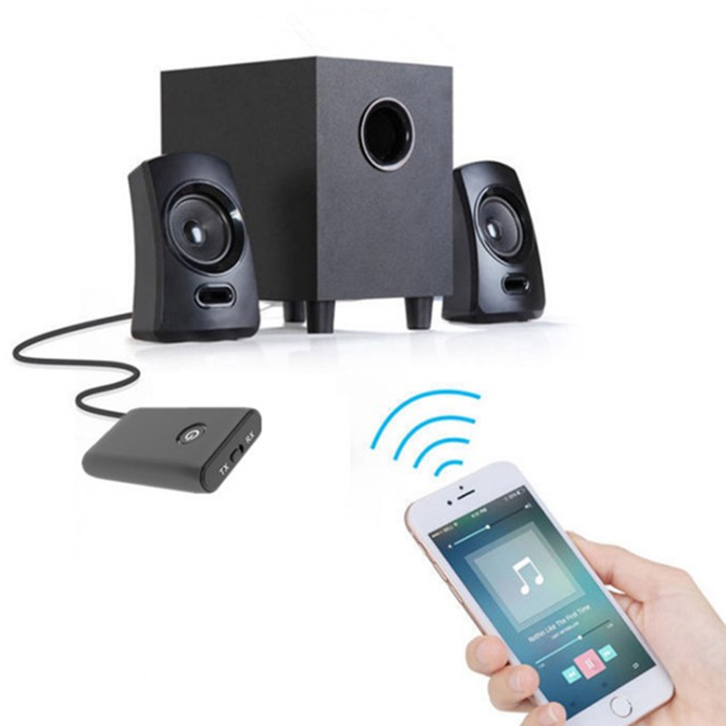 Headset MP3 Player Accessories Bluetooth Receiver Computer TV Speaker Audio Transmitter 2-in-1 Wireless 3.5mm Converter Charging