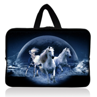 Free Shipping Tracking Number Horse Sleeve Bag Case Pouch Handle For 7 9 Apple Ipad Mini