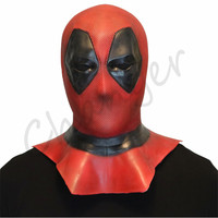 Marvel Deadpool Mask Superhero Movie Latex Masks Cosplay Costume Halloween Props