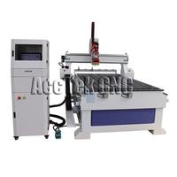 Linear atc wood mdf acrylic cnc router metal cutting machine AKM1325C