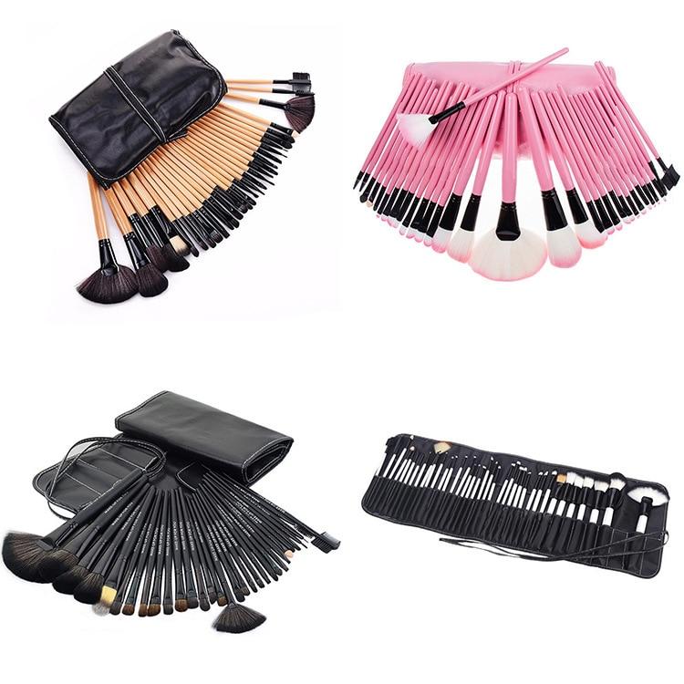 Professionele make-upborstels Set Hoogwaardige 32-delige - Make-up