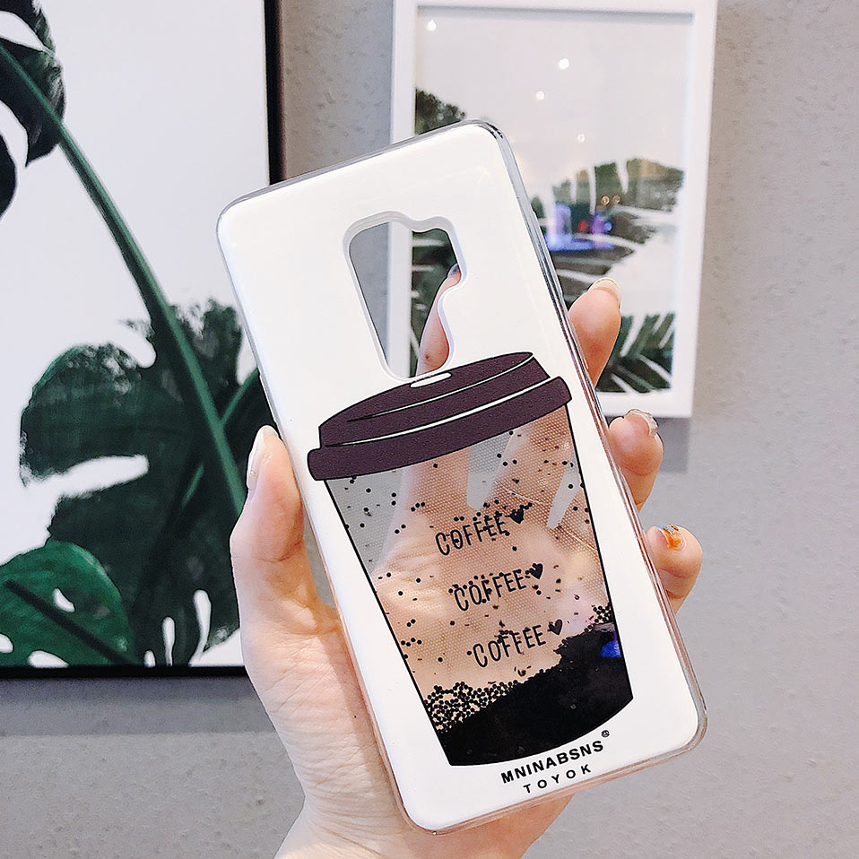 For Huawei P20 Plus Cases Coque Coffee cup phone case Phone Case For Huawei Mote 10 20 Funda For Huawei Mote 20 Lite Capa