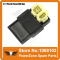 AC Fired 6pin 4+2 Pins CDI Fit to GY6 125cc 150cc Motorcyle Scooter ATV Quad Go Kart Buggy Free Shipping