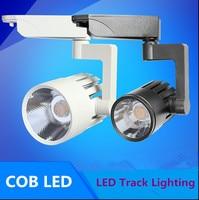 2pcs 110 V 220 V LED spotlight rail track light lamp 30W COB LED track light