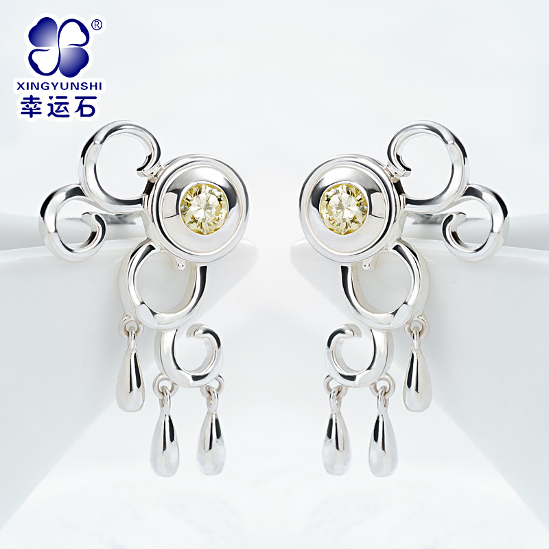 The Legend of Qin anime XueNv 925 sterling silver eardrop comics cartoon the legend of qin anime zinv 925 sterling silver earring comics cartoon