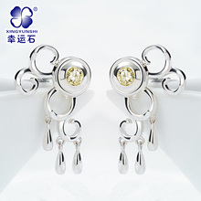 The Legend of Qin XueNv 925 sterling silver eardrop
