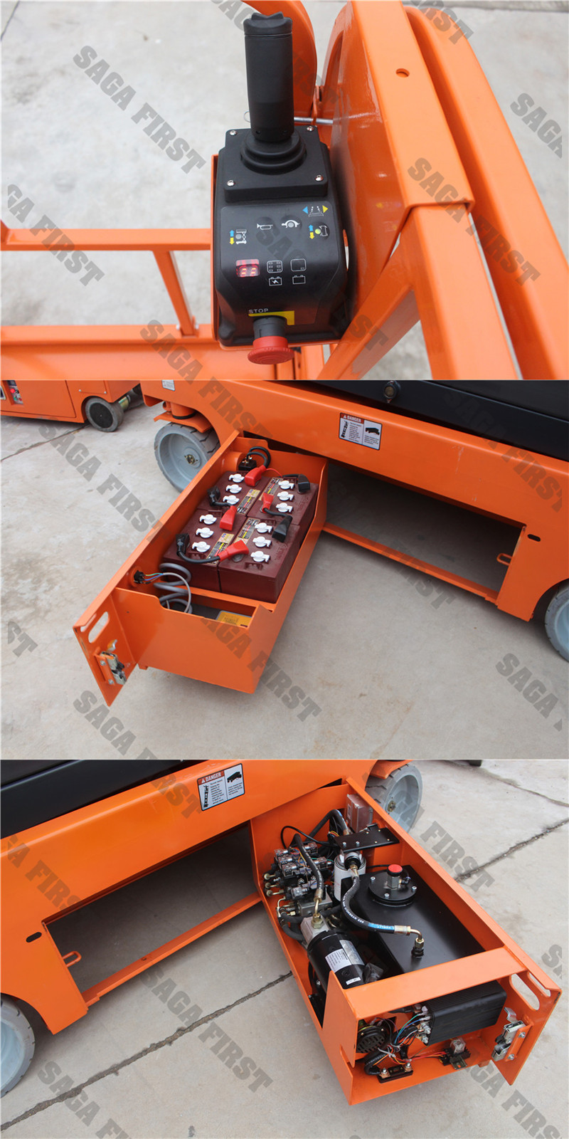6 12m Self Propelled Electric Scissor Lift Table With Ce Z45 Genie Wiring Diagram 4