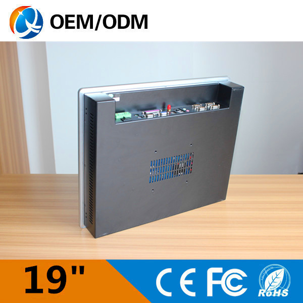 Intel J1900 2.0GHz 5COM/4USB/LPT 1.8GHz panel pc industrial computer touch screen 19 inch the resolution 1280x1024 all in one PC