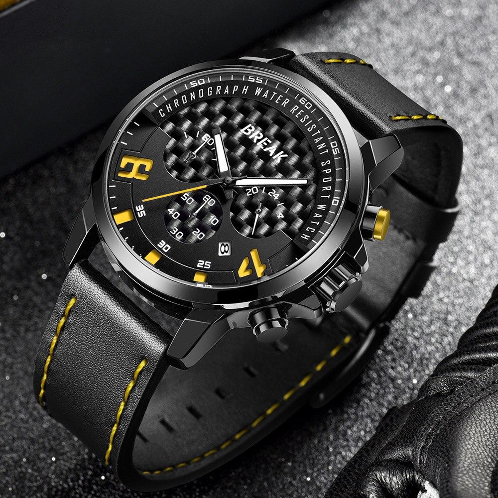 Break Watch Luxury Watches Men Classic Quartz Analog Clock Man Luxury Watches Men 2018 Creative Men's Watch Military Waterproof цена