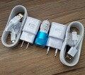 OEM Адаптивная Быстрое Быстрое Зарядное Устройство + Автомобильное Зарядное Устройство + Micro USB 2.0 Кабель для Samsung Galaxy S6 S6 EDGE S6 edge Plus + Примечание 5/4 S4/3