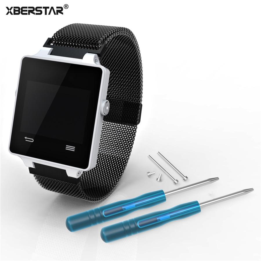 Stainless Steel Milanese Magnetic Loop Bracelet Watch Band