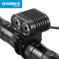 LEADBIKE 6000mAh Rechargeable Handlebar Bicycle Light Night Super Bright Xml T6 Mtb Bike Headlight Led Lamp