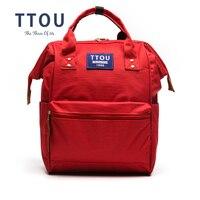 TTOU Design Student School Bag Backpack High Quality Cute Fashion Toddler Shoulder Bag Travel Softback Women