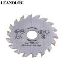 цена на For wood metal granite marble tile brick disc for protable cutting tools electrical chain TCT alloy steel 18Tooth circular saw