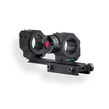 Discovery High Accuracy 24.5/30/34mm Universal One-piece Offset Scope Mount Dual Ring with Angel for Picatinny 20mm&dovetail 11m