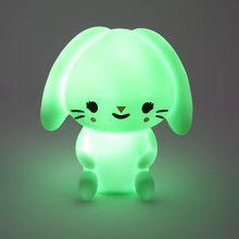 Pretty Cute Rabbit Cartoon Animal Night Light Baby Room Sleeping Light Bedroom Desk Lamp Night Lamp Best For Gifts