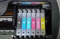 T0491 T0492 T0493 T0494 T0495 T0496 Refillable Ink Cartridge For R210 R310 R350 RX510 R230 With
