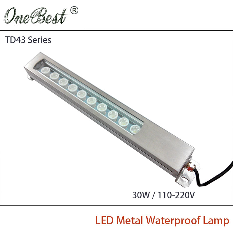 HNTD TD43 30W 110V 220V Led Metal Panel Light CNC Machine Tool Waterproof Explosion proof Led