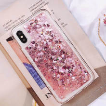 For OPPO A83 A1 A31 A33 A37 A57 A39 A59 A71 A77 A73 A79 Case Luxury Rugged Silicone Soft TPU Dynamic Liquid Glitter Sand Cover