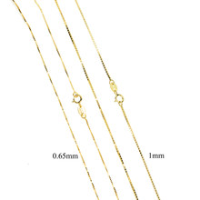 Classic Basic Chain 100% 925 Sterling Silver tiny thin box chain Adjustable mulity chain Necklace Chain Fashion 925 Jewelry(China)