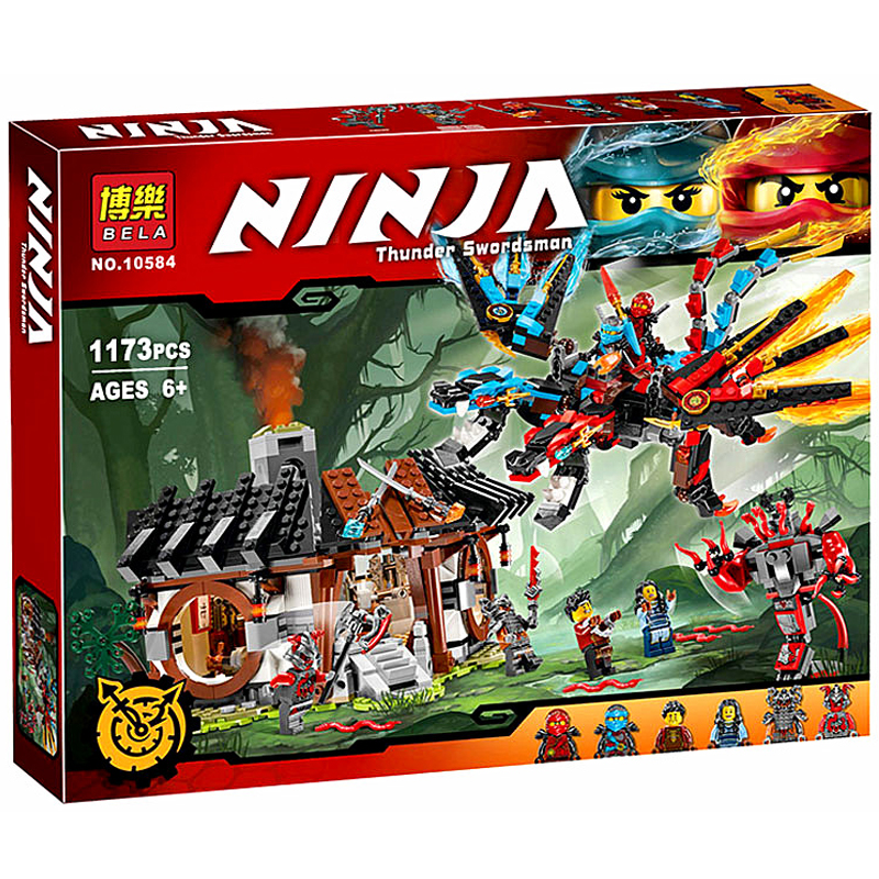 2017 NEW Dragon's Forge 70627 Building Kit Compatible with 06041 Ninja Bricks Models Building Blocks toys for childrens gifts электронные барабаны alesis forge kit