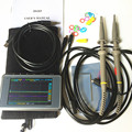 DSO203 Digital Handheld Oscilloscope ARM Cortex Quad 4 Channels 72MHz Mini Nano  8M Flash dso 2 probes with battery
