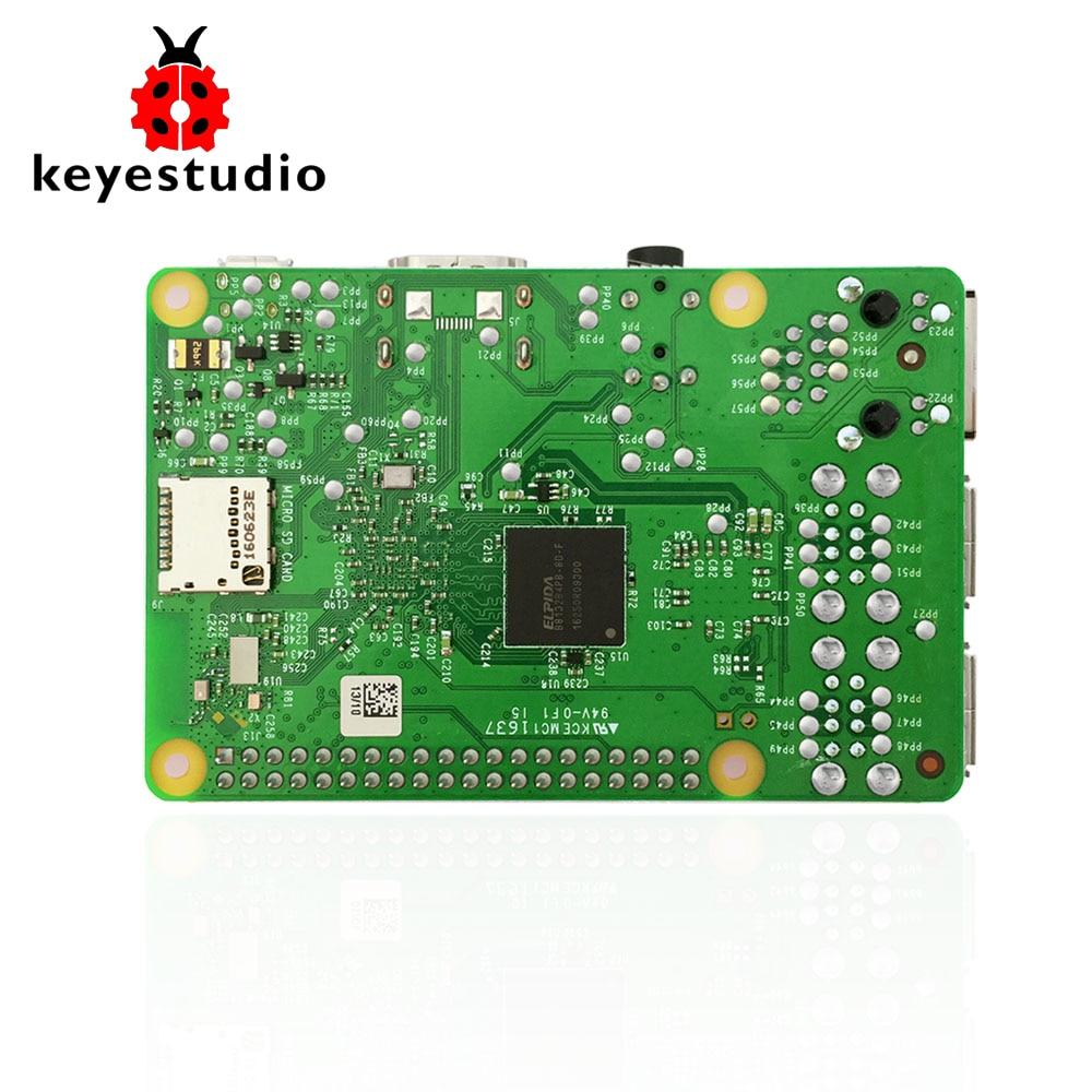 Original UK Raspberry Pi 3 Model B 1GB_RAM ARMV8_ARM7 BCM2837_64bit 1.2GHz Quad-core/with WiFi&Bluetooth (NO acrylic BOX)