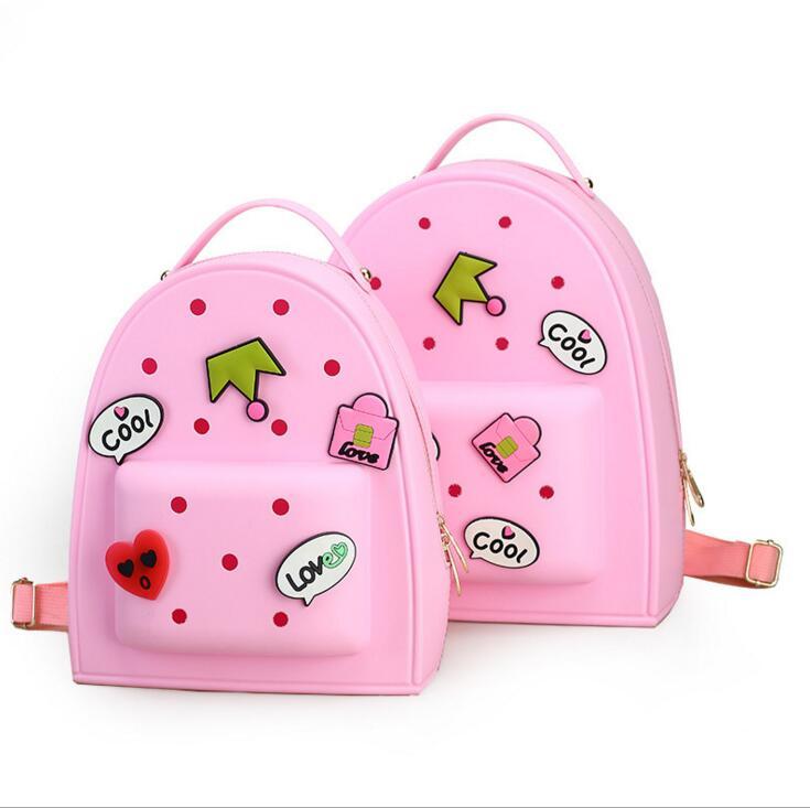 2017 сладкие девочки школьные сумки конфеты цвет мультфильм детей рюкзаки дети ранец детский сад сумки mochila эсколар infantil