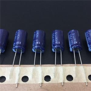100 шт. 6,8 мкФ 400 В G-LUXON ГР серии 8х14 мм Высокое качество 400в6.8мкф алюминиевый электролитический конденсатор