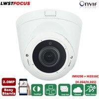LWSTFOCUS Sony Starvis POE 2MP IP Camera 1080P Outdoor IR 30M CCTV Dome Surveillance Full HD