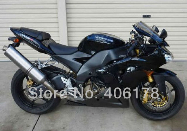 Hot Sales,ZX 10R 04 05 For Kawasaki Ninja ZX10R 2004 2005 Black and