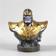 18 CM żywica biust Thanos Model Avengers 3 nieskończoność wojny kolekcja statua Thanos figurka tanie tanio Urządzeń peryferyjnych Dorośli 5-7 lat 8-11 lat 12-15 lat 3 lat Zapas rzeczy Żywica Żołnierz gotowy produkt Żołnierz zestaw