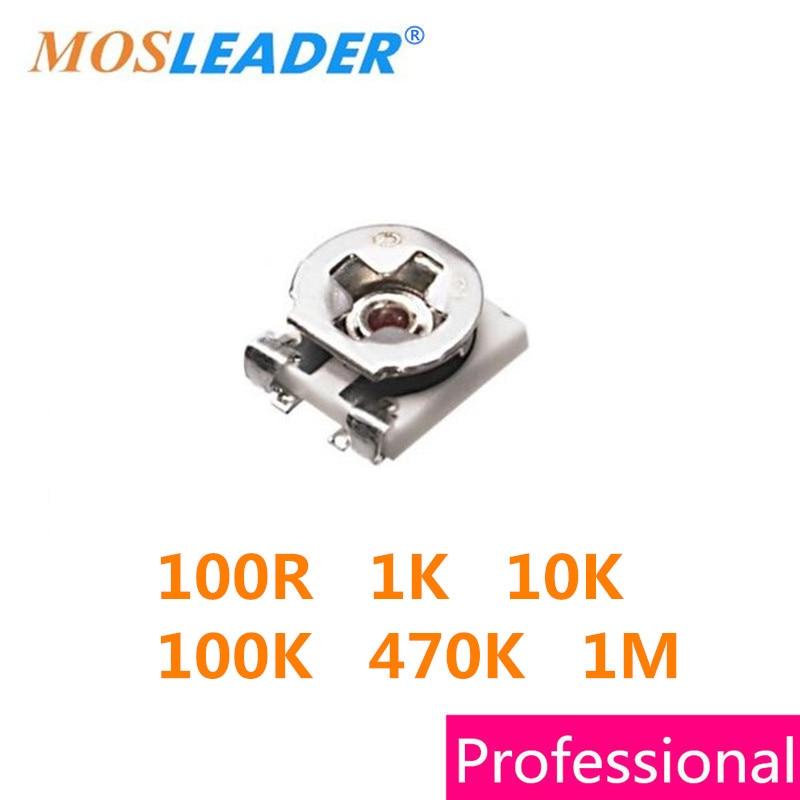 Mosleader SMD 1000PCS 2500PCS 3X3 3*3 100R 1K 10K 100K 470K 1M 3MM High qualityMosleader SMD 1000PCS 2500PCS 3X3 3*3 100R 1K 10K 100K 470K 1M 3MM High quality