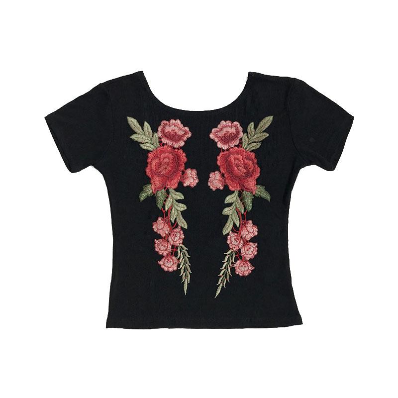 HTB1EFa3SpXXXXXdXFXXq6xXFXXXm - Sexy Flower Embroidery T-shirt PTC 60