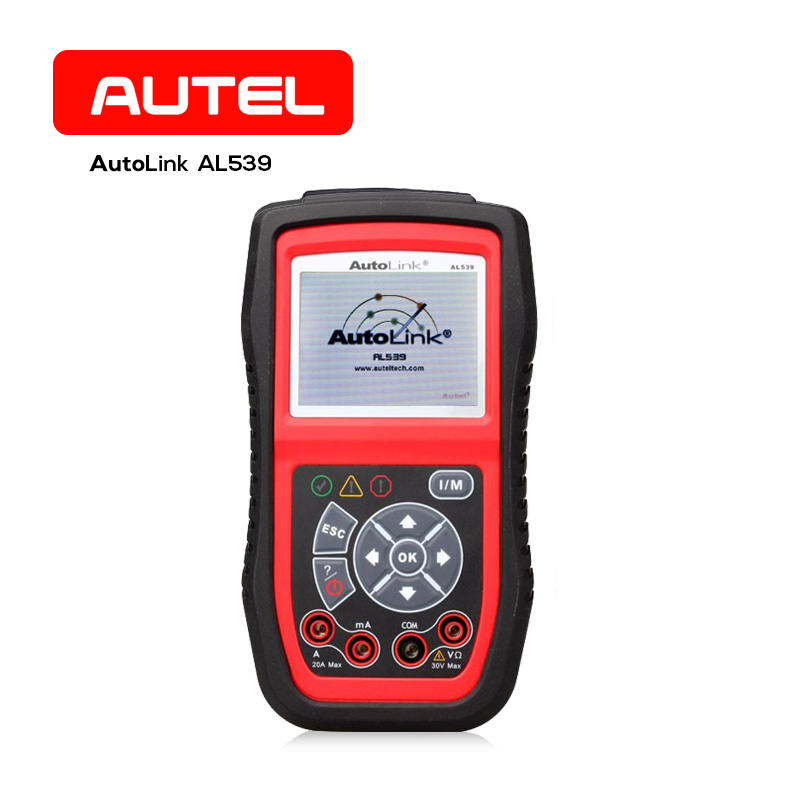 Autel AL539 Professional Auto OBD2 CAN Code Reader Scanner Car Diagnostic Tool Car ECU Tester Multi Language Universal For Cars 2016 new arrival vs 890 obd2 car scanner scantool obdii code reader tester diagnostic tools 3 inch lcd car detector