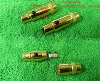 Gold PlatedHeadphones Mini 3 Pin Plug For AKG K701 K712 Q701 Audeze LCD Series Headphone Plug