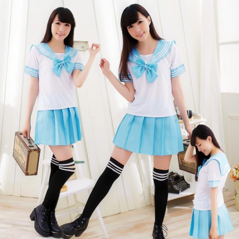 Japan And South Korea Sailor Suit Costumes Anime COS Japan Academic School Female Student Uniforms Japanese School Uniform