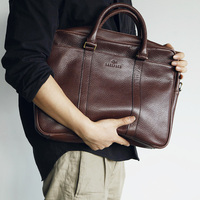 LANSPACE натуральная кожа портфель мужской бренд высокое качество кожаная мужская сумка