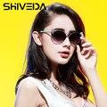SHIVEDA Fashion Cat Eye Woman Sunglasses Butterfly Frame Glasses 2016 New Design Girls Sun Glasses Women Party Gafas 15010NP