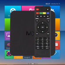 Android TV Box Amlogic S805 Cortex-A5 Quad-Core Mali-450 Android 4.4.2 1 Г/8 Г MX Smart TV Box Miracast Airplay Smart TV Box