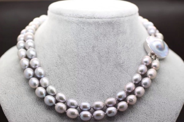 New Arrival Fashion stylish Cute Baroque Pearl Necklace Free Shipping Christmas Gifts For Women stylish chic faux pearl layered necklace for women
