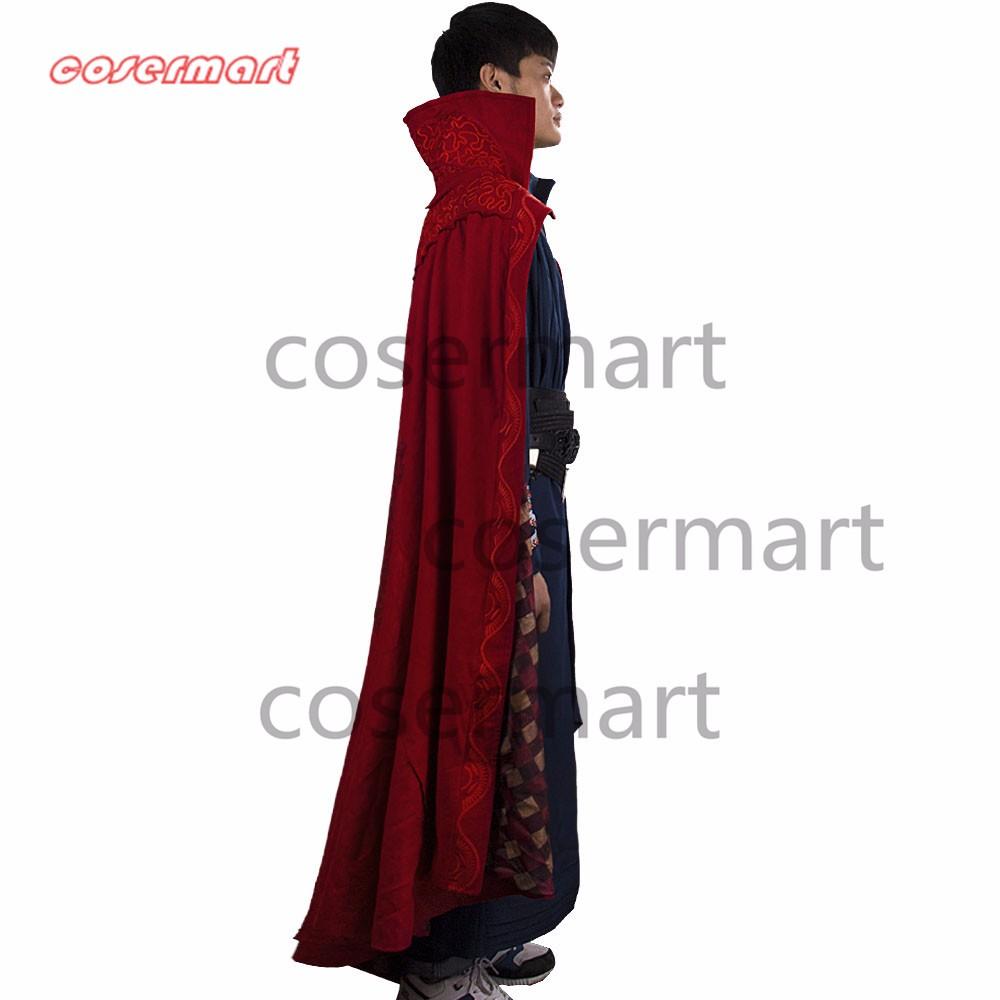 2016 Marvel Movie Doctor Strange Costume Cosplay Steve Full Set Costume Robe Halloween Costume (18)_