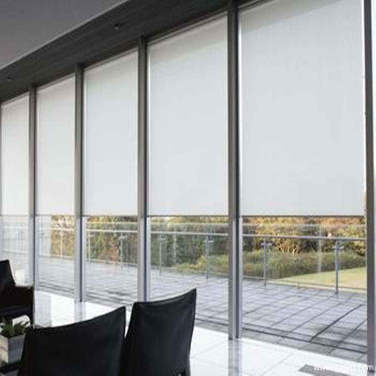 Hot Pull The Bead Roller Blinds Office Bamboo Curtain