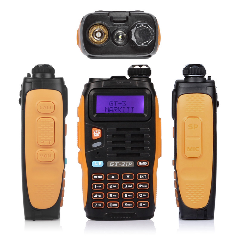 Baofeng GT-3TP MarkIII TP 1/4 / 8Watt διπλής ζώνης 2M / - Φορητό ραδιοτηλέφωνο - Φωτογραφία 2