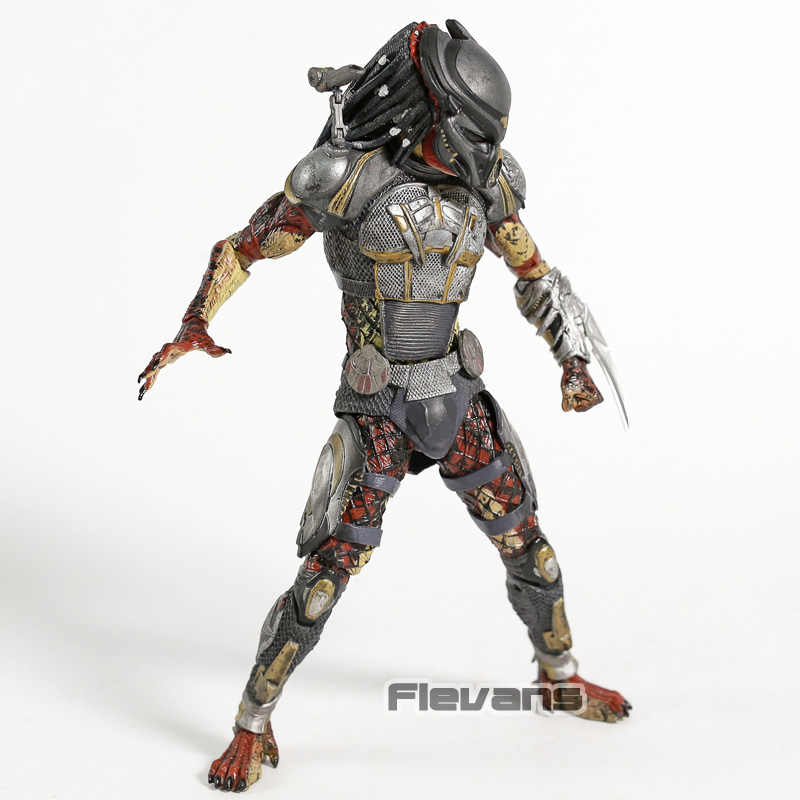 De Predator 2018 Voortvluchtige Predator PVC Action Figure Collection Speelgoed Beweegbare Model Beeldje
