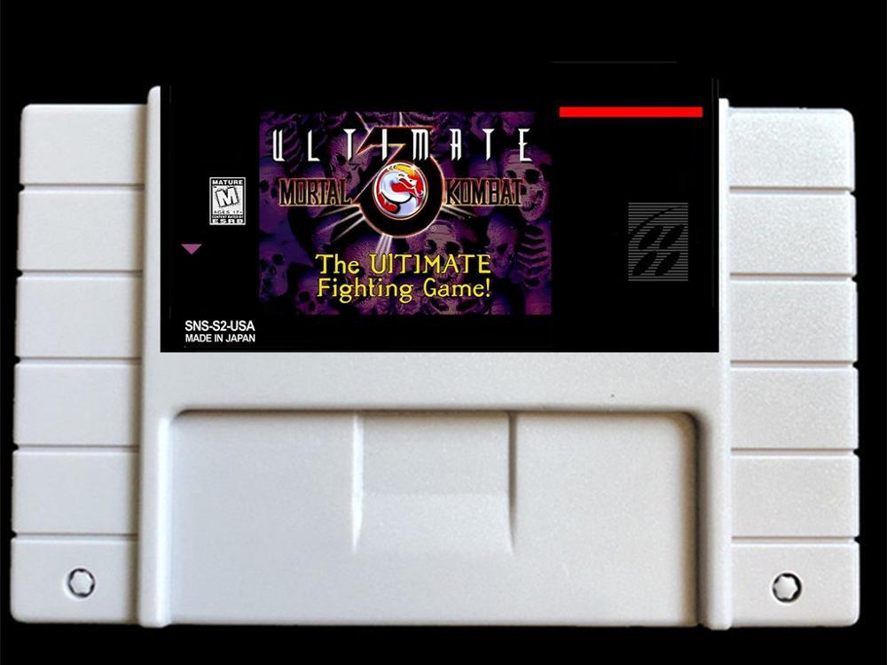 Ultimate Mortal Kombat 3 USA -NTSC version  46 pins Video games card  NTSC version for Retro Video games Console !