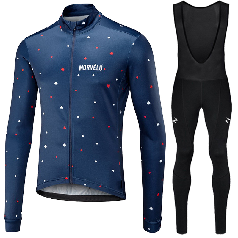Image 2 - Runchita 2018 winter thermal fleece long sleeve set bicicleta maillot ciclismo kit bike winter cycling clothing Ropa de invierno-in Cycling Sets from Sports & Entertainment