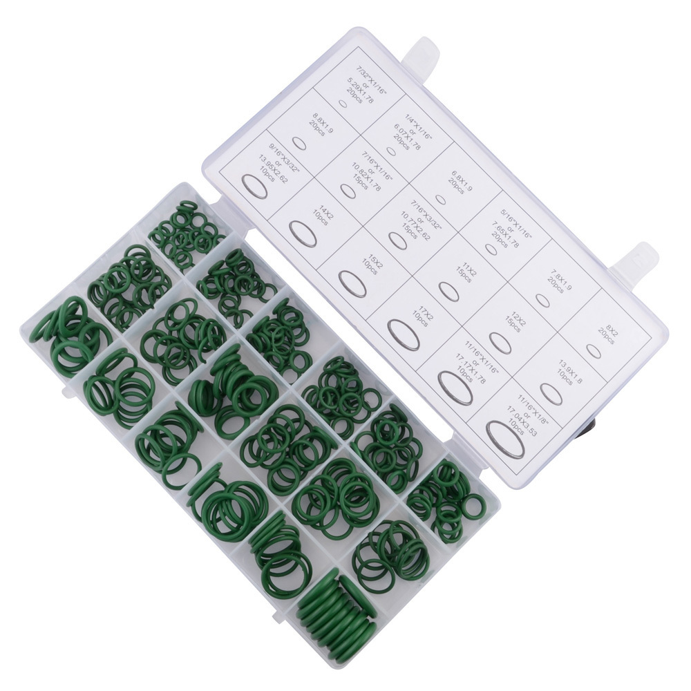 SPEEDWOW 270 шт резиновое уплотнительное кольцо прокладка для системы кондиционирования воздуха автомобиля газ Водонепроницаемость уплотнительные кольца прокладка шайба