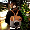Супер мило и новая идея creative рюкзак модули камеры корейский стиль старинные студент опрятный школа сумка лоскут специальный Instagram мешок